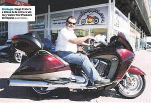 Victory Vision Tour - Diario Negocios - 27 de julio del 2010