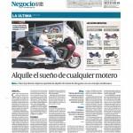 Nota de Prensa - Diario Negocios & Estilo de Vida - 27 jul 2010