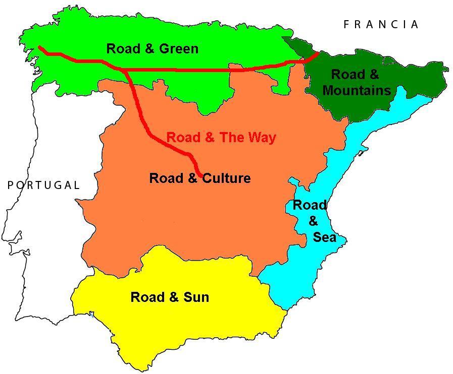 Mapa 5 Zonas