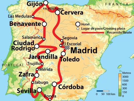Espana En Moto Alquiler De Motos Y Rutas Por Espana
